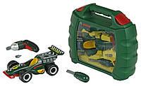 Детский набор инструментов с машиной Bosch Klein 8375, фото 1