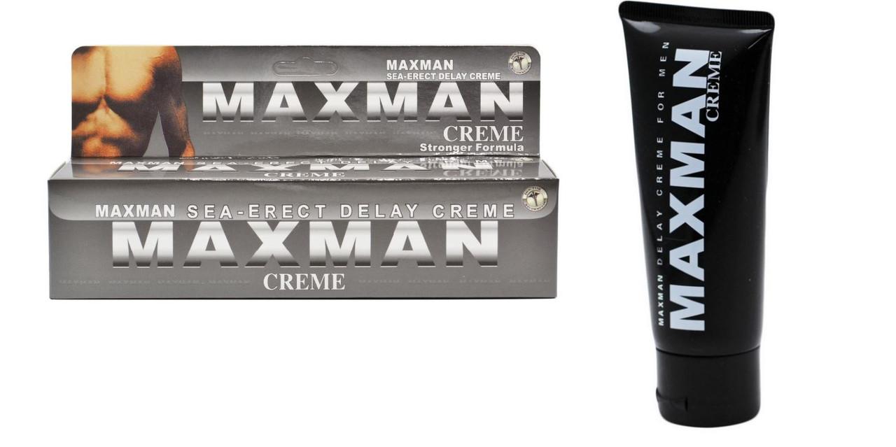 Крем Maxman для продления полового акта и усиления эрекции (60 мл)