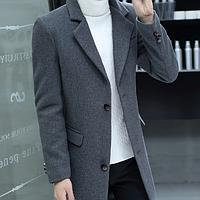 Мужское теплое пальто. Модель 61789, фото 1