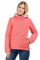 Демисезонная куртка коралл, размер 42, 44, 46, 48, 50