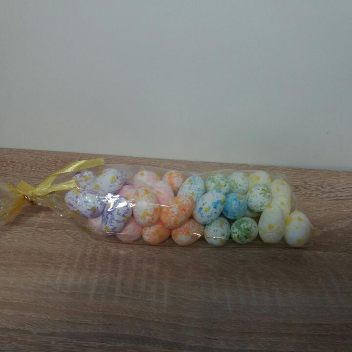 Яйца пасхальные сувенир из пенопласта маленькие 3 см.