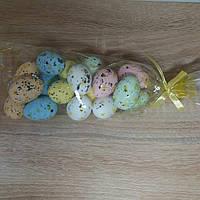 """Яйца пасхальные сувенир из пенопласта """"Перепелиные""""  4 см., фото 1"""