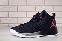 Баскетбольные мужские кроссовки Nike Air Jordan Super Fly 5 Black White