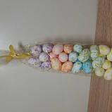 Яйца пасхальные сувенир из пенопласта маленькие 3 см., фото 2