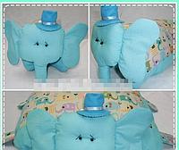 Игрушка подушка - Слон, фото 1