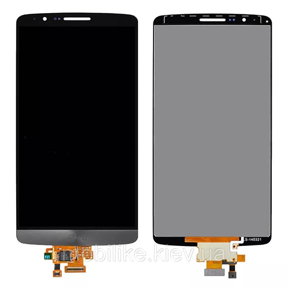 Дисплей с сенсорным экраном LG 3Gs D724 черный
