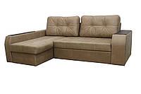 """Угловой диван """"Элит"""" ткань 3 ( Прессованная замша)"""
