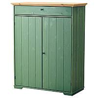 """ИКЕА """"ГУРДАЛЬ"""", Шкаф для белья, зеленый, 109x50x137 см"""