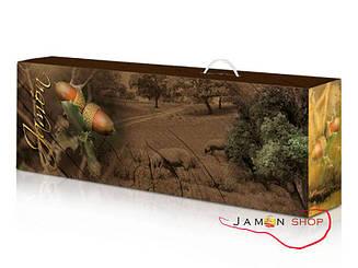 Подарочная коробка под окорок, коробка для хамона