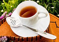 Именная Чайная ложка  Гладь