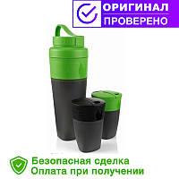 Набор фляга и два стакана LIGHT MY FIRE Pack-up-Drink Kit 50694740