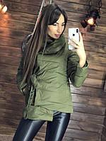 Женская модная силиконовая куртка на весну-осень tez200180