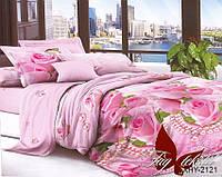 Семейный комплект постельного белья XHY2121