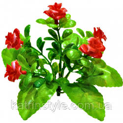 Искусственные цветы «Роза» маленькие  (60 шт)