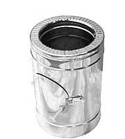 Ревизия дымоходная нерж/нерж Версия Люкс D-100/160 мм 0,8 мм