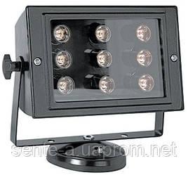 Прожектор світлодіодний e.light.LED.150.9.9.6500.black 9Вт чорний