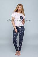 Піжама Sensis Фламінго (Flames) жіноча штани+футболка