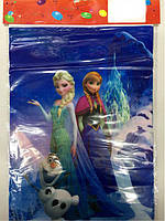 """Пакет детский праздничный для подарков """" Холодное сердце """" 20х17 см"""