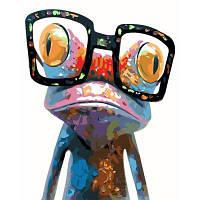 Творческий Цифровой Лягушка Маслом Ручная Роспись Стены Домашнего Декора Цветной