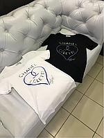 Футболка Chanel colette с сердцем