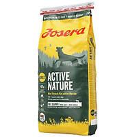 Корм Josera Active Nature для активных собак, 15кг