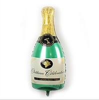 """Акция !!! Шар в форме бутылки """" Шампанское """" 38 * 20 см."""