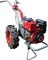Мотоблок дизельный Мотор Сич МБ-6ДЕ (6 л.с., электростартер, 4+2 скор., дифференциал)