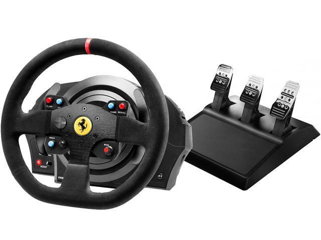 Игровой руль Thrustmaster T300 Ferrari Integral RW Alcantara edition PC/PS4/PS3 Black (4160652)