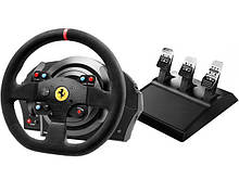 Игровой руль Thrustmaster T300 Ferrari Integral RW Alcantara edition PC/PS4/PS3 Black (4160652)