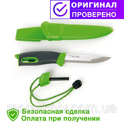 Нож-огниво light my fire KNIFE GREEN (12113310), фото 2