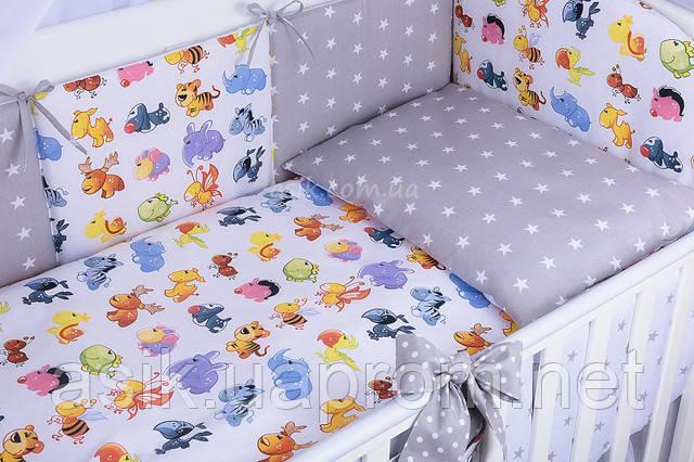 Комплект детской постели Асик