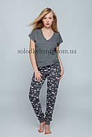 Піжама Sensis Париж (Adele) жіноча штани+футболка