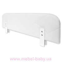 455_защитный бортик Soft 120 Meblik white