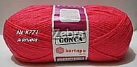 Акриловая пряжа Gonka Kartopu №К771 - МАЛИНА