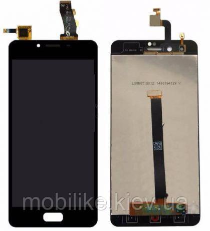 Дисплей с сенсорным экраном Meizu U10 черный
