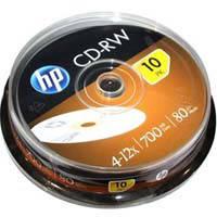 Диск Hewlett-P CD-RW 700 MB 80min 4-12x