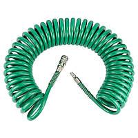 Шланг спиральный полиуретановый 10м 8×12мм Refine (7012271)