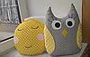 Игрушки подушки - Солнышко и Совушка