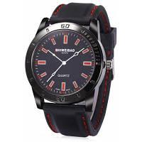 SHIWEIBAO A1472 Кварцевые часы для мужчин Красный