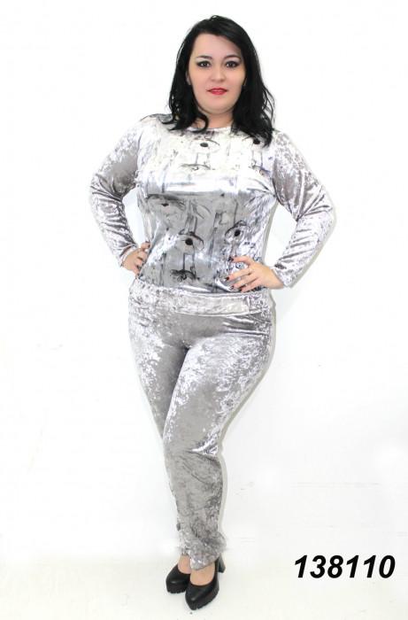 Модный велюровый костюм 48,50,52,54,56