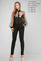 Нежнейшая блуза с из полупрозрачной ткани Разные цвета