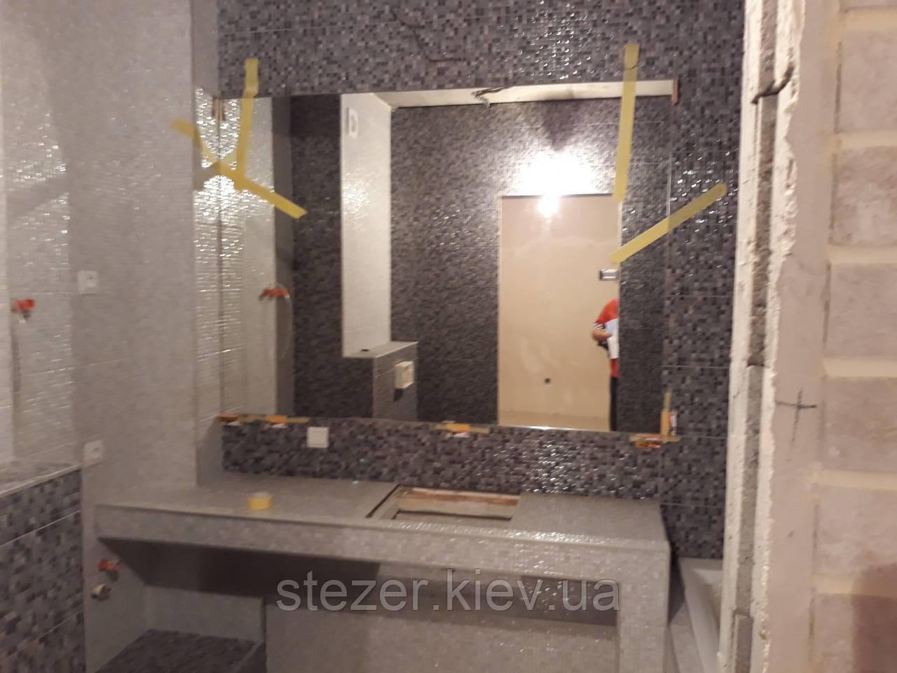 Зеркало для ванной 120х90х0,4 см