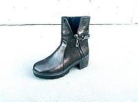 Ботинки кожаные женские осень-весна 36-41 размеры, фото 1