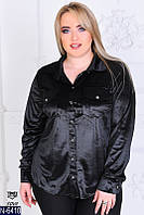 Рубашка женская бархатная новинка 2018