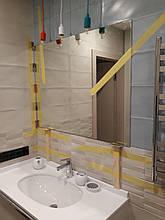 Дзеркало у ванну 75 см по висоті на замовлення