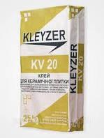 KV-20 25кг., клей для плитки и камня
