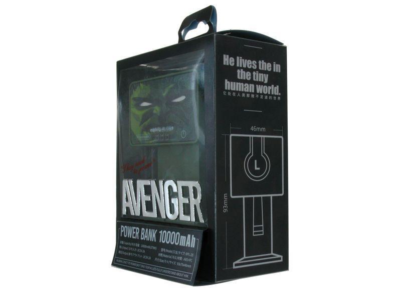 внешний аккумулятор hulk