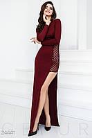 Откровенное вечернее платье