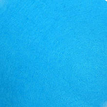 Фетр жесткий 1 мм, лист 20x30 см, насыщенно-голубой (Китай)