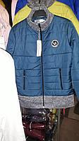 Женская курточка на молнии с карманами